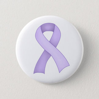 Periwinkle Awareness Ribbon Button 0001