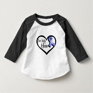 Periwinkle Awareness Ribbon For My Hero T-Shirt