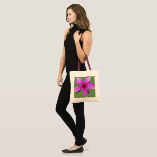 Periwinkle bloom tote bag