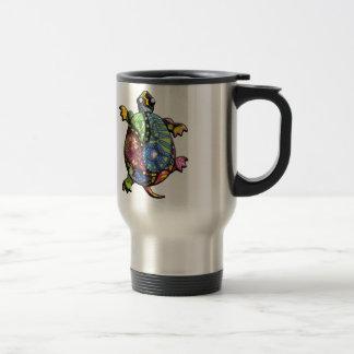 Periwinkle Blue Paisley Travel Mug