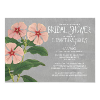 Periwinkle Bridal Shower Invitations