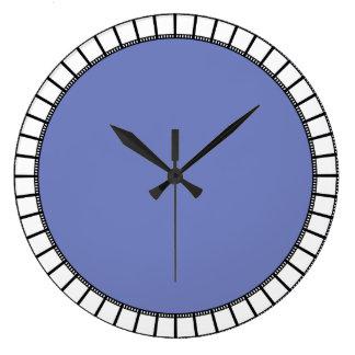 Periwinkle clock