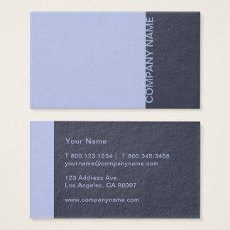 Periwinkle Denim Blue Modern Business Card