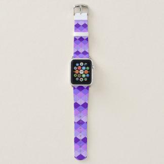Periwinkle Diamond Pattern Apple Watch Band