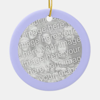 Periwinkle Frame Ornament