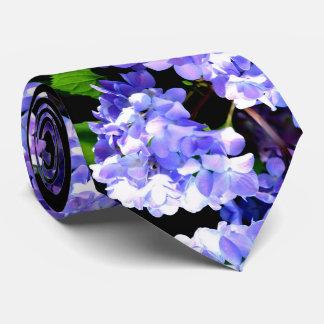Periwinkle Hydrangea Tie