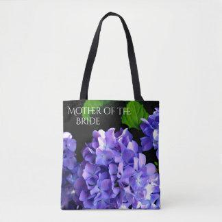 Periwinkle Hydrangea Tote Bag