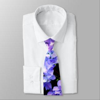 Periwinkle Hydrangeas Tie