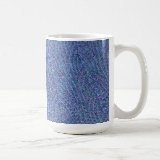 Periwinkle Knit Mug