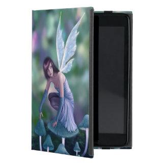 Periwinkle Mushroom Fairy iPad Mini Case