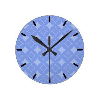 Periwinkle shippo clocks