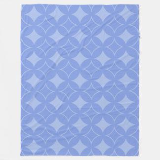 Periwinkle shippo fleece blanket