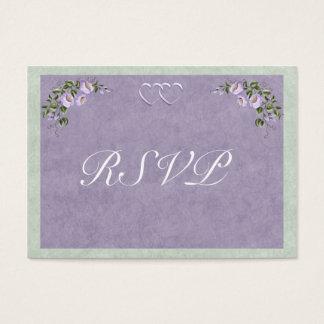 Periwinkle Wedding Invitation RSVP Insert