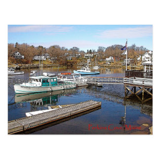 Perkins Cove, Maine - Postcard