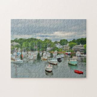 Perkins Cove - Ogunquit, Maine Jigsaw Puzzle
