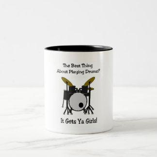 Perks Two-Tone Coffee Mug