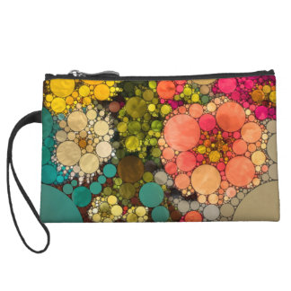 Perky Flowers by Love2Snap Wristlet Clutches