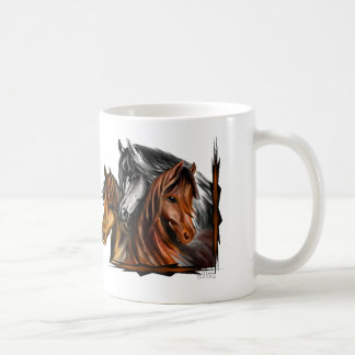 PerliPrints3Horsesz Coffee Mug