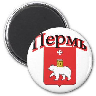 Perm Russia Flag Magnet