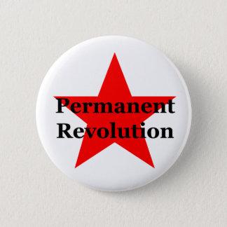 Permanent Revolution 6 Cm Round Badge