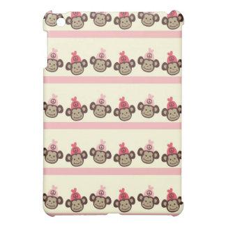 - Pern Pink Peace Signs & Monkey iPad Mini Covers