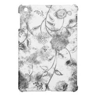 - Pern Vintage Floral Black & White iPad Mini Cases