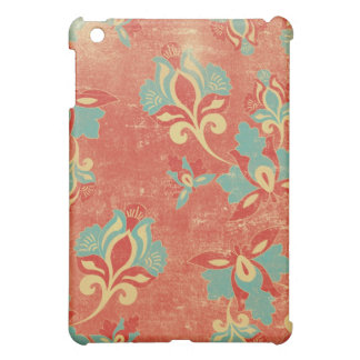 - Pern Vintage Orange Floral Case For The iPad Mini