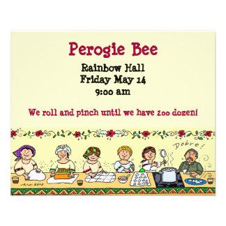 Perogie Bee 11.5 Cm X 14 Cm Flyer
