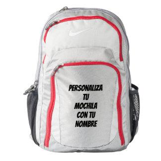 Perosonalizadas knapsacks backpack