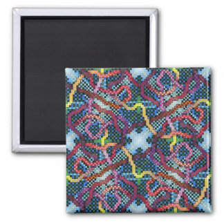 Perpetual Puzzle Kinectric Tile 4 Magnet