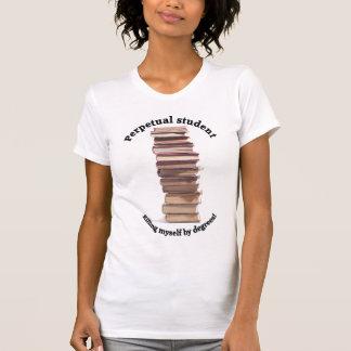 perpetual student Ladies Micro-Fiber Singlet T-shirt