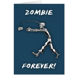 Perpetual Zombie Greeting Card