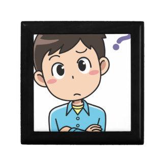 Perplexed Boy Gift Box