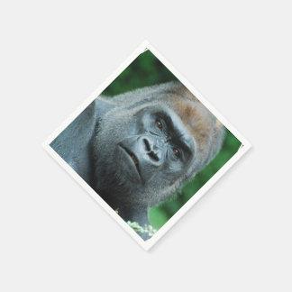 Perplexed Gorilla Disposable Serviette