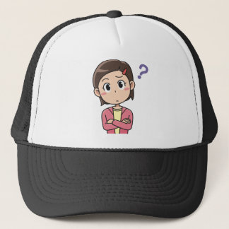 Perplexed Trucker Hat