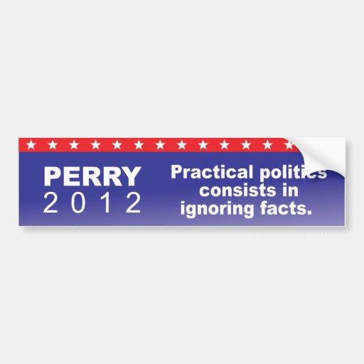 Perry 2012 bumper sticker