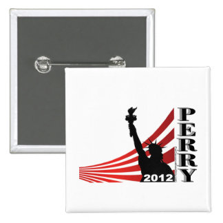 Perry 2012 - President Pinback Buttons