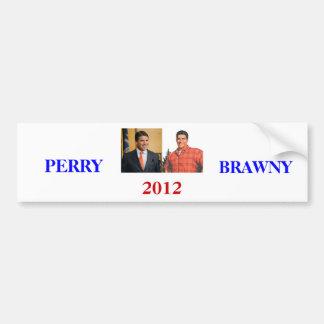 Perry Brawny 2012 Bumper Sticker