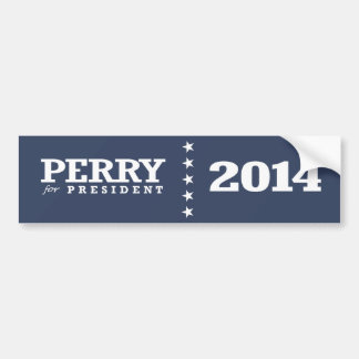 PERRY FOR PRESIDENT BUMPER STICKER