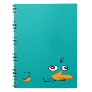 Perry the Platypus Spiral Notebook