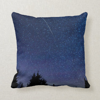 Perseid Meteor Shower Cushion