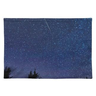 Perseid Meteor Shower Placemat