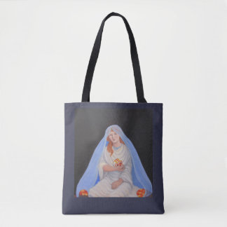 Persephone and Hades tote bag