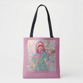 Persephone Brings the Spring tote bag