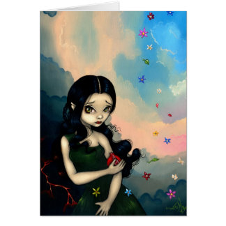 """Persephone"" Greeting Card"