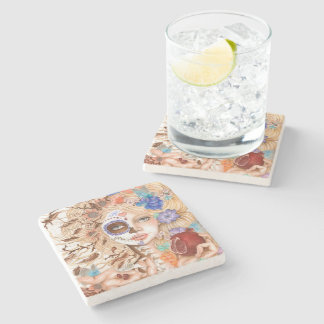 Persephone Stone Beverage Coaster