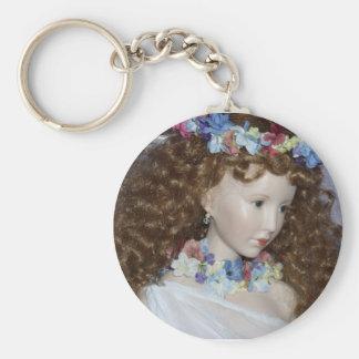 Persephone's Return Basic Round Button Key Ring