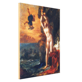 Perseus and Andromeda Canvas Print