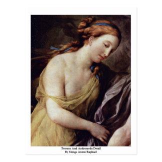 Perseus And Andromeda Detail Postcard