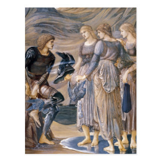 Perseus and the Sea Nymphs Postcard